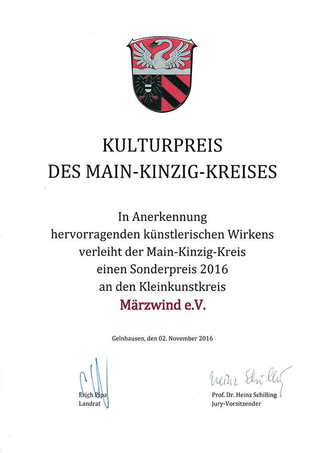 MKK Kulturpreis